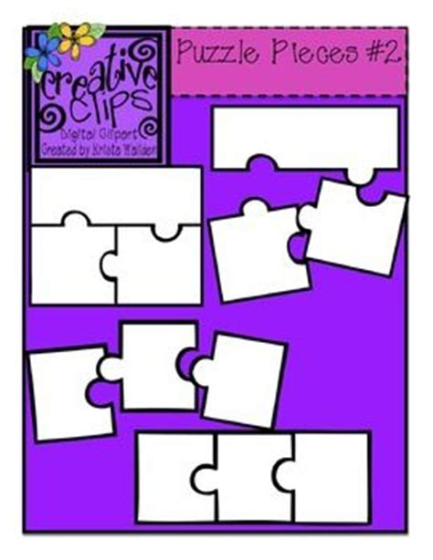 3 puzzle pieces template best 25 puzzle template ideas on