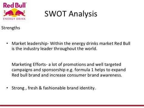 energy drink industry analysis redbull energy drink
