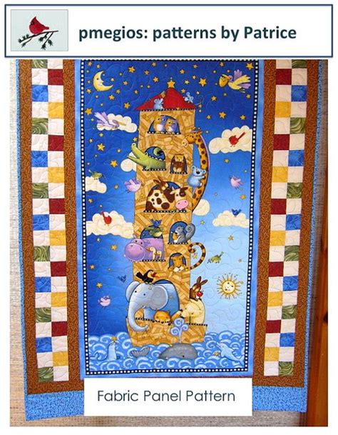 Panel Quilts Free Patterns by Fabric Panel Crib Quilt Pattern Pdf Pattern