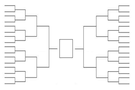 93 bracket template tournament bracket template mlb baseball