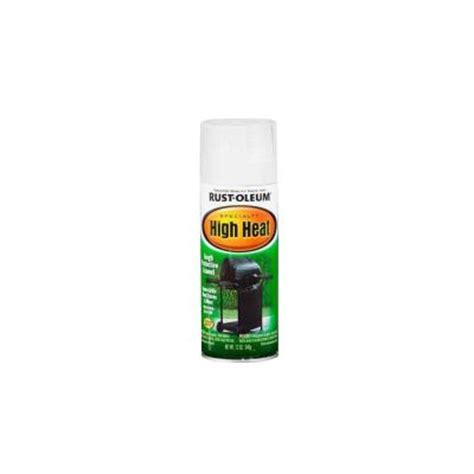 rust oleum specialty 12 oz white high heat spray paint 7751830 the home depot