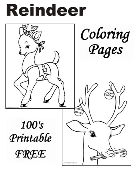 large reindeer coloring page reindeer coloring pages for christmas