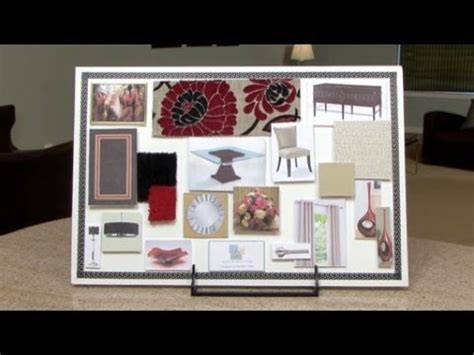 how to interior design how to make an interior design color board youtube