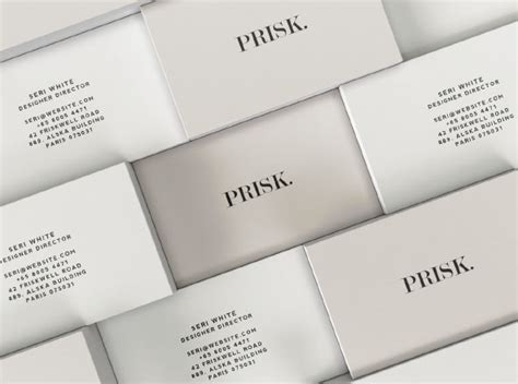 business card mockup template with various stacked business card mockup