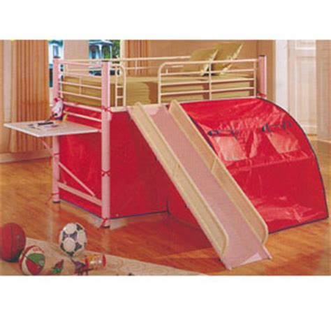 Bunk Bed With Slide And Desk by Bunk Beds Bunk Bed W Slide And Desk 7337 Abc