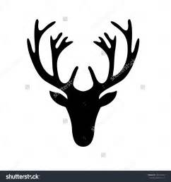 deer head silhouette google search sgrafitto