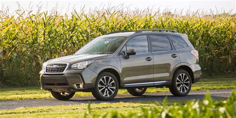 2017 subaru forester vehicles on display chicago