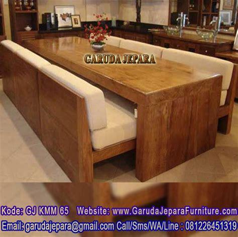 Meja Kayu Meh meja makan balok kayu besar garuda jepara furniture