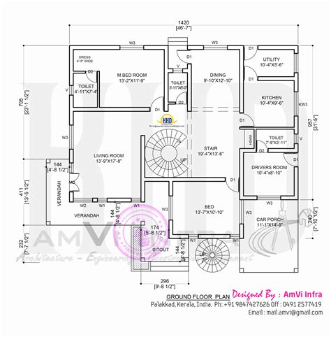 home design plans ground floor october 2014 home kerala plans