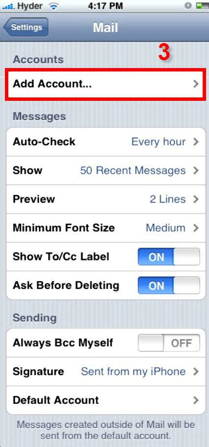 Office Qwest by Iphone Settings For Qwestoffice Net Accounts