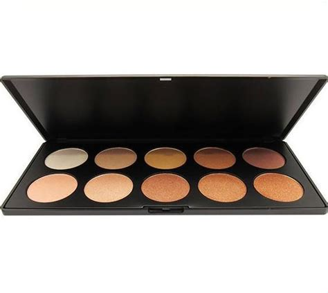 Creations Highlight Glowing Land Palette venta al por mayor creations glowing land highlight palette 10 cosmeticosalpormayor