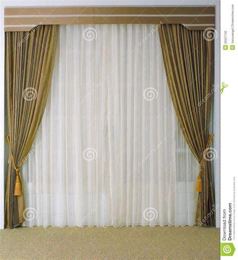 beautiful curtain beautiful curtain and tassels stock photo image 25557742