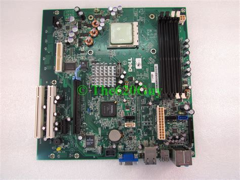Mainboard Processor Amd dell dimension e521 motherboard ct103 amd athlon 64 x2 2ghz cpu uw457 hk980 015561600385 ebay