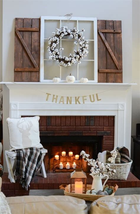 28 farmhouse mantel decor ideas to make your home