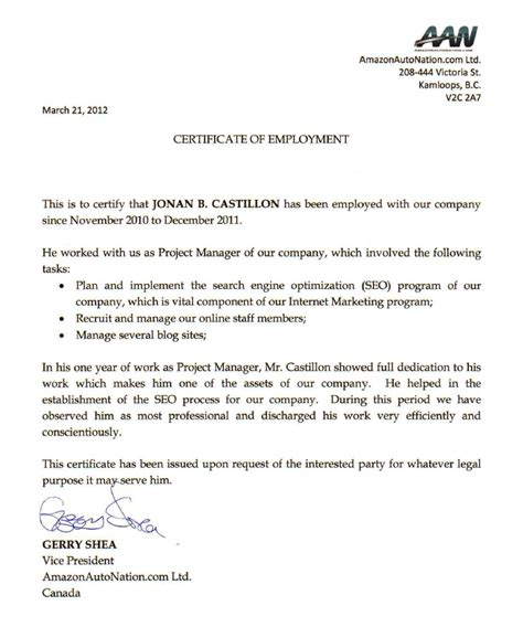 sle certification letter philippines certification letter philippines 28 images doc 404522