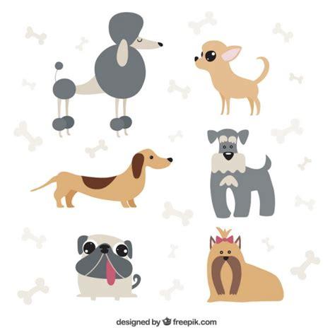 imagenes de animales gratis pack de dibujos de perros descargar vectores gratis