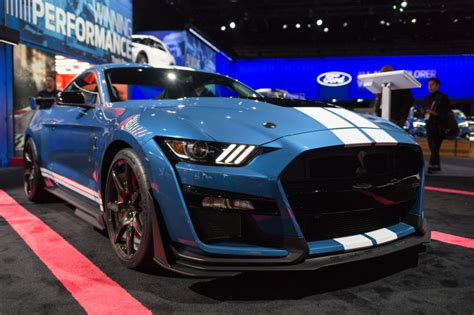ford mustang shelby gt twelve badass details  fords latest stang