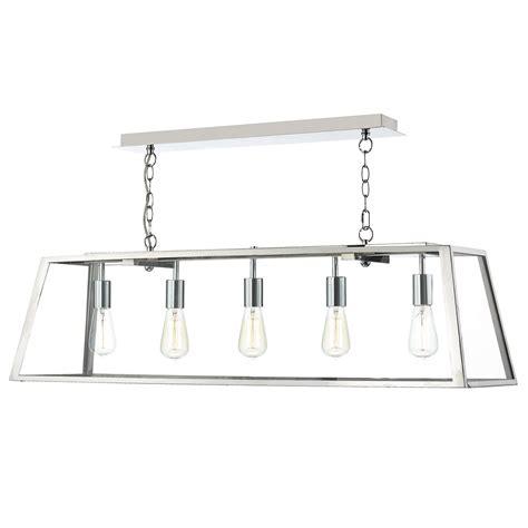 pendant lighting stainless steel academy 5 light pendant stainless steel