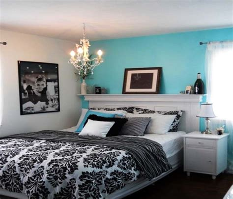 blue and black bedrooms tiffany blue and black bedroom home design