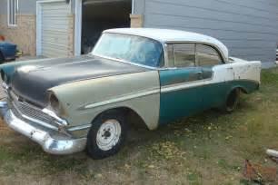 1956 chevy 4 door hardtop sport sedan belair chevrolet