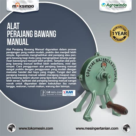 Fungsi Alat Pengiris Bawang alat perajang bawang manual mesinpertanian mesinpertanian