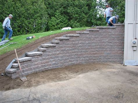 garden blocks for retaining wall best 25 retaining walls ideas on diy