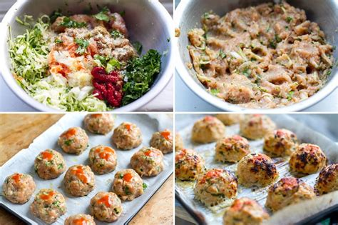 recipe for healthy turkey meatballs baked spicy turkey meatballs with zucchini eat drink paleo