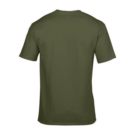 Kaos Catton T Shirt gi4100 premium cotton t shirt green gildan