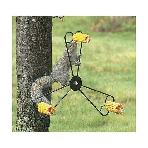 spinning squirrel feeder woodworking