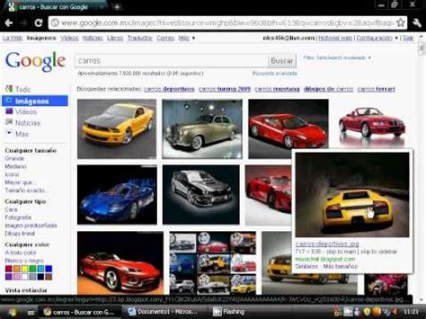 imagenes xe google como guardar imagenes de google youtube