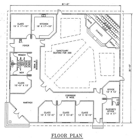 steel church buildings floor plans church plan 126 lth steel structures