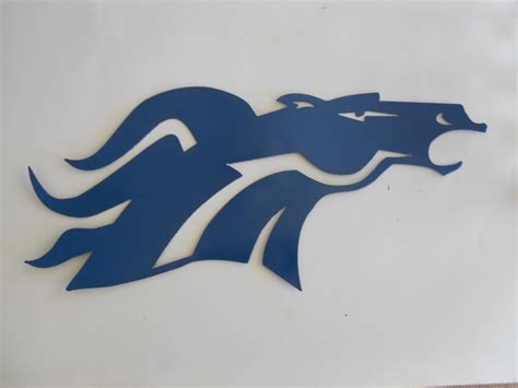Denver Broncos Wall Decor by Denver Broncos Metal Wall Metal Sports Teams