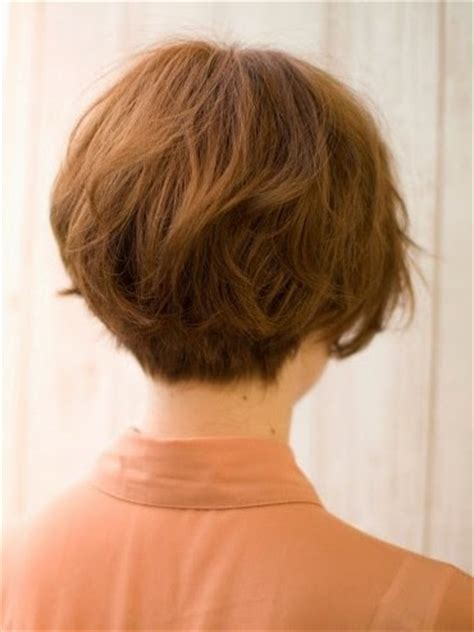 chopped wedge bob hair short wedge haircut picture side view images frompo