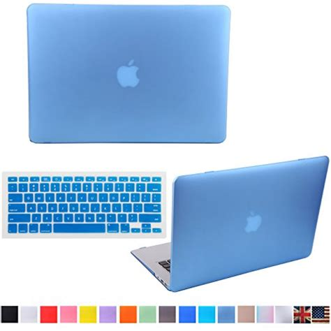 Macbook Retina 13 Matte Light Blue No Logo hde matte shell clip snap on for macbook pro 13 with retina display fits model a1425