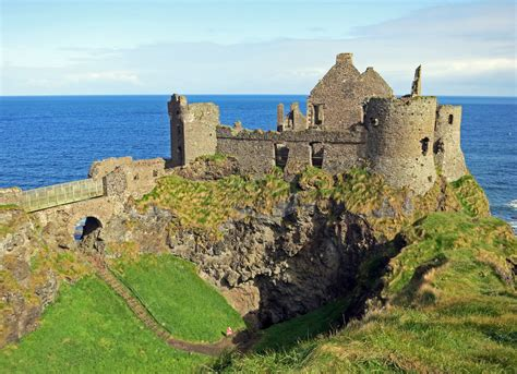 War Rugs For Sale Dunluce Castle The Ruin On The Cliff Daily Scribbling