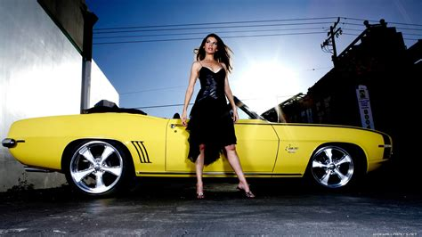 Wallpaper Girl Car | 60 sexy cars and girls wallpaper and pictures