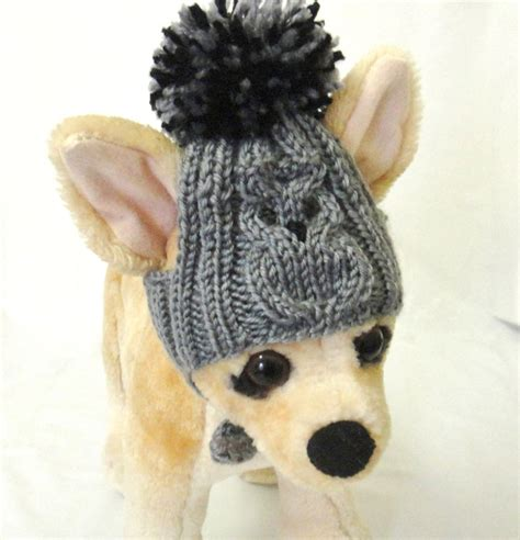 knitted hats for dogs pet clothes apparel crochet knit hat for
