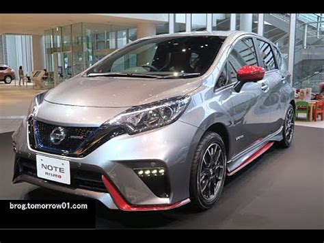 Nissan Versa Nismo 2017 Nissan Note E Power Nismo Is Green And At The