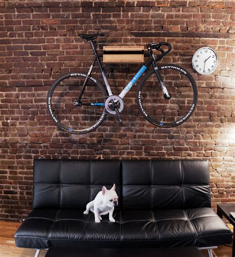 How To Hang Bicycles From The Ceiling by A Complete Guide To A Bachelor Pad