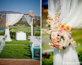Outdoor Wedding Ceremony Decoration Ideas by Wedding Inspiration An Outdoor Ceremony Aisle Wedding