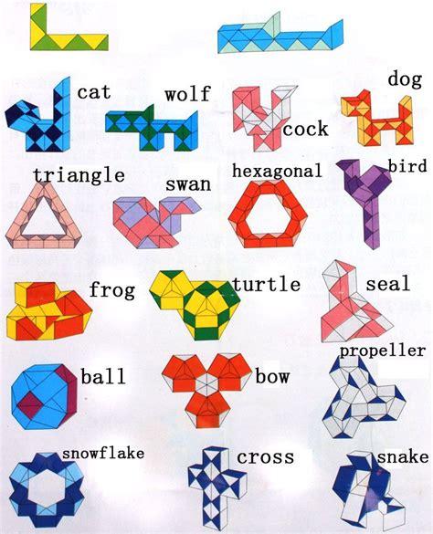 pattern for rubik s triangle 39 best rubik snake images on pinterest