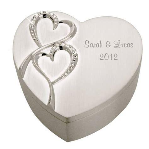 Wedding Keepsake Box Canada by Personalized Wedding Silver Keepsake Box