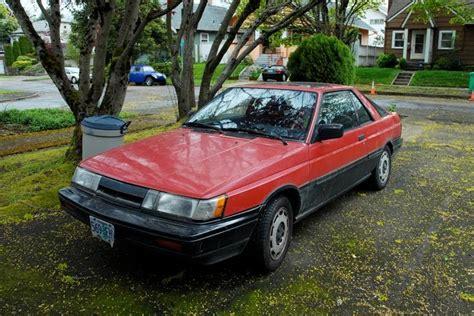 nissan sport coupe parked cars 1988 nissan sentra se sport coupe