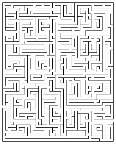 printable hidden picture mazes printable maze puzzles for adults printable maze 20
