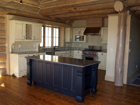 log home kitchen cabinets kitchen slideshow hackbarth construction