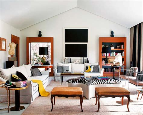 eclectic mix in madrid home 171 interior design files contemporary classic mix perfected erika brechtel