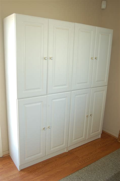 White Pantry Cupboard by Quality White Kitchen Pantry Cabinet Storage Unit Raised