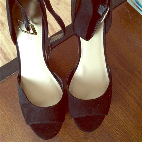 justfab shoe size chart justfab nwot justfab wedges fits true to size 5 inch