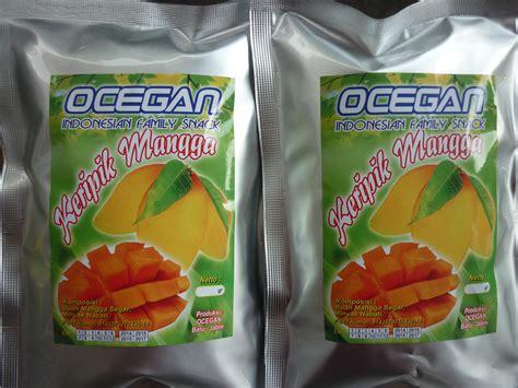 Kerupuk Buah Mangga Ocegan jual keripik buah mangga harga murah malang oleh toko ocegan
