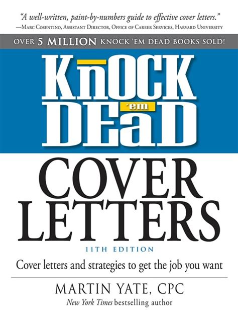 Cover Letters That Knock Em Dead by Knock Em Dead Cover Letters Washington County Library Overdrive